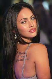 меган фокс татуировки значение татуировки меган фокс главная