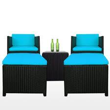 splendor patio set blue cushion 2 year warranty