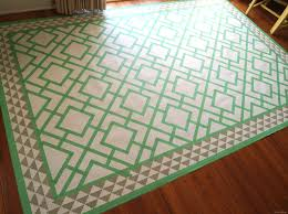 Under Dining Table Rugs Diy Dining Room Area Rug Painted Linoleum Reality Daydream