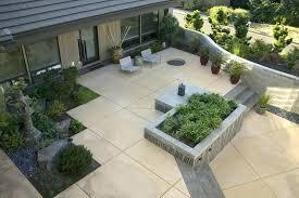 modern concrete patio. Contemporary Concrete Modern Concrete Patio Planters Fresh Of Broken  With   With Modern Concrete Patio T
