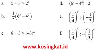 Uji kompetensi 6 matematika kelas 7 pg 1 10 bab 6 aritmetika. Kunci Jawaban Matematika Kelas 9 Halaman 10 11 Latihan 1 1 Kosingkat