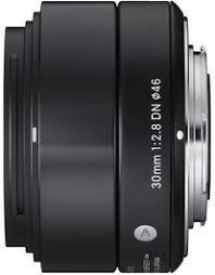 <b>Sigma AF 30mm f/2.8</b> DN Black Art Series Lens for Micro 4/3s ...