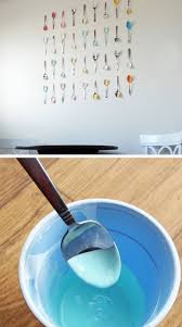 ... Painted Spoon Kitchen Wall Art | Click Pic For 28 DIY Kitchen  Decorating Ideas On A