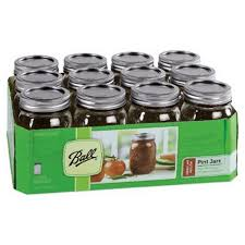 ball 16 oz mason jars. ball 61000 pint size regular mason jars 16 oz