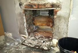 removing gas fireplace cost to remove insert glass doors from
