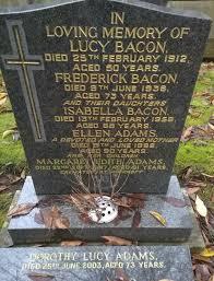 Isabella Bacon (1889-1958) - Find A Grave Memorial