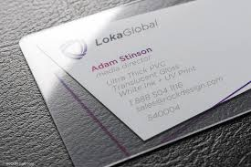 Translucent Plastic Business Cards Clear Pvc Business Cards