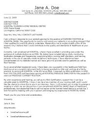 Nurse Cover Letters New Grad Registered Nurse Cover Letter Examples Conorfloyd