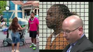 """Chip Yost on Twitter: """"Man accused of being in #Disneyland brawl appears in  OC court. Citing """"multi-state criminal history,"""" judge sets bail for Avery  Robinson of Las Vegas at $1,000,000. DA says"""