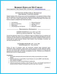 Electronics Repair Technician Resume Objective And Letter Aircraft