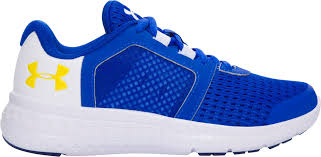 under armour shoes blue and yellow. jtsp398 kids under armour preschool fuel rn running shoes - blue/yellow blue and yellow w