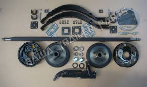 diy 1400kg electric single axle trailer kit trailer parts