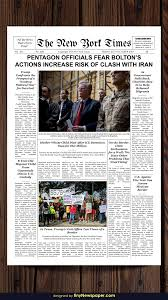 The Times Newspaper Template New York Times Newspaper Template Google Docs Times