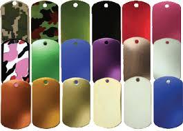 <b>Blank</b> Dog Tags-Aluminum Dog Tag <b>Blanks</b>|<b>Stainless Steel</b> Dog Tags