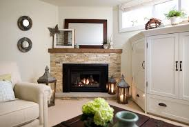 dazzling corner gas fireplace trend toronto traditional basement innovative designs with airy basement bright built ins cozy