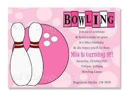 bowling invitation templates bowling party invitations templates free image group 82