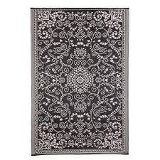 black and cream rug. Eco Black And Cream Rug