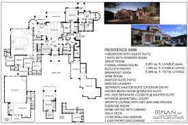 peaceful ideas large house plans over 10000 square feet 7 colonial entrancing 6000