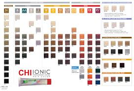 Ion Color Chart Pdf Chi Ionic Permanent Hair Color Shade Chart In 2019 Chi