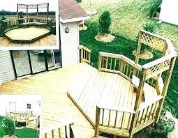 backyard deck design ideas. Plain Design Backyard Deck Design Ideas Elevated Plan Raised Decking  Plans Throughout Backyard Deck Design Ideas O