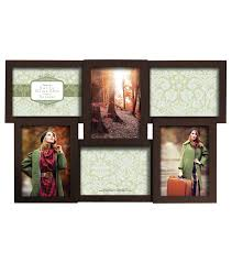 dimensional collage wall frame with 6 openings 5 u0027 u0027x7 u0027 u0027