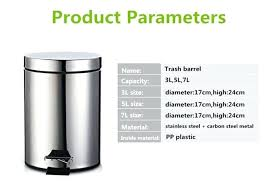 trash can dimension kitchen trash bin dimensions designs