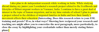 who am i    another wordi also plan to do independent research while working in india  while studying abroad during
