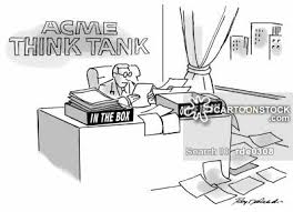 thinking box office. outside the box office cartoons and comics funny pictures from cartoonstock thinking i