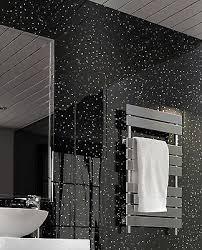 black sparkle upvc bathroom cladding