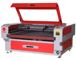 china leather co2 laser cutting and engraving machine 180 watt biaxial asynchronous supplier