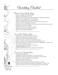 wedding checklist templates free wedding checklist template templates at