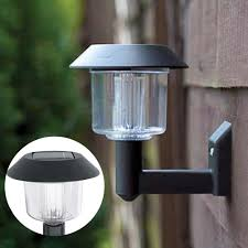 make a statement with solar powered outdoor wall lights