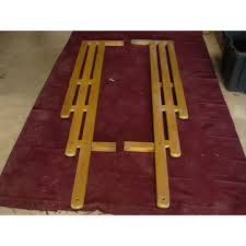 1947 55 chevy wooden bed rails set