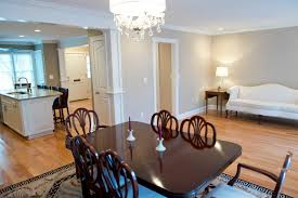 Townhouse Open Floor Plan  Contemporary  Dining Room Open Floor Plan Townhouse