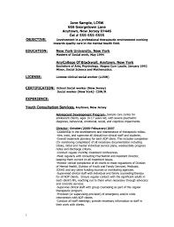 Resume Samples For Masters Degree Sample Objective Program