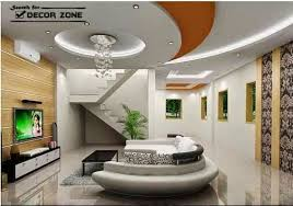 Tray Ceiling Design Made Of POP For Living Room  Ideas For The Pop Design In Room