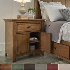 Shabby chic nightstand Bedroom Ediline 1drawer Wood Cupboard Nightstand With Charging Station By Inspire Classic Amazon Uk Buy Shabby Chic Nightstands Bedside Tables Online At Overstockcom