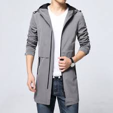 trench coat men classic mens zipper trench coat masculino mens clothing long jackets coats british style