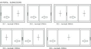 average width of sliding glass doors average width of sliding glass doors normal door height super