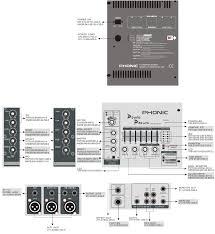 phonic powerpod 620 circuit diagram powered mixer schematic Audio Mixer Setup Diagram Powered Mixer Wiring Diagrams #38