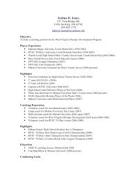 ... pics photos how write resume for football coaches ehow template - soccer  coaching resume ...