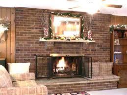 brick fireplace decor red brick fireplace mantel decorating ideas brick fireplace decor brick fireplace mantel home