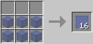 glass pane minecraft. Glowing Blue Stained Glass Pane Recipe Minecraft