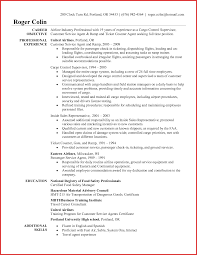 Best Of Airline Customer Service Agent Resume Resume For A Job