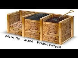 pallet compost bin. pallet compost bin