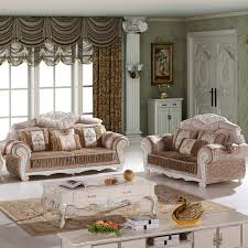 chinese living room furniture. 4 pcs of 1 set antique design fabric living room sofa sf016 chinese furniture c