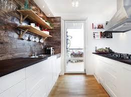 White wood kitchen High Gloss White And Wood Kitchens Ideas Eatwell101 White And Wood Kitchens Ideas Eatwell101