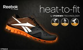 reebok running shoes 2013. the new reebok u-form+ is designed to \u0027shrink fit\u0027 and mould running shoes 2013