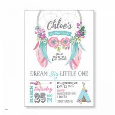 Dream Catcher Baby Shower Invitations Baby Shower Invitations Beautiful Baby Shower Invitations For 45