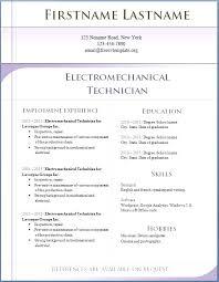 Simple Resume Format In Word Simple Free Simple Resume Format Download Generalresumeorg
